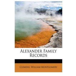 Alexander Family Records