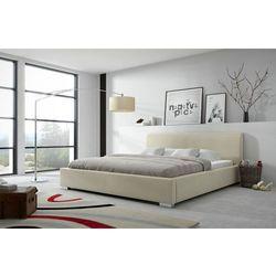 KLAUDIUSZ łóżko 180 cm tapicerowane z pojemnikiem - 180 x 200 cm