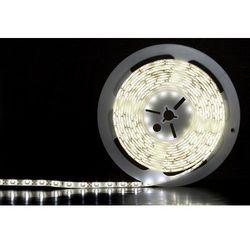 TAŚMA ABILITE LED-3528 IP65 300LEDS B.ZIMNY 5m/8mm/12V/24W BIAŁE PODŁOŻE / SILIKON