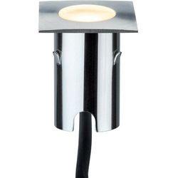Lampa LED zewnętrzna do zabudowy Paulmann 93785, 4x0.7 W, LED wbudowany na stałe, 112 lm, 2700 K, IP67, (SxWxG) 4.3 x 8.3 x 4.3 cm
