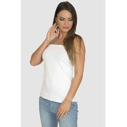 3611 Bluzka biała - Biały