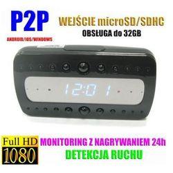 Kamera FULL HD WiFi/P2P (Zasięg Cały Świat!) Ukryta w Zegarku.