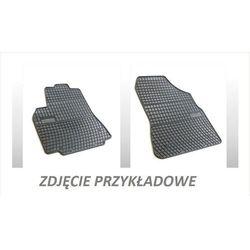 Dywaniki gumowe czarne z kompletem stoperów - Opel Zafira (B) 2005-2012, 3 rząd siedzeń