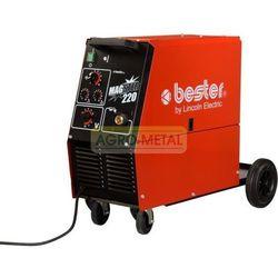 Półautomat spawalniczy BESTER MAGSTER 220 + Uchwyt MIG + Reduktor Harris + DOSTAWA GRATIS