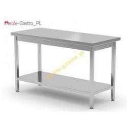 Stół nierdzewny centralny z półką 100x80x85
