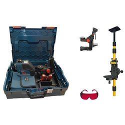 Laser płaszczyznowy Bosch GLL 3-80 P +BM1+statyw+L-Boxx