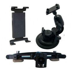 Qoltec Uchwyt samochodowy na zagłówek + szybe do Tableta 7-10 cali