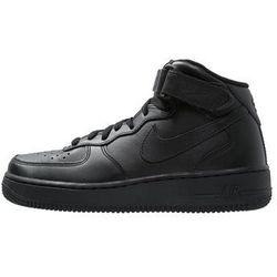 Nike Sportswear AIR FORCE 1 07 LV8 SUEDE Tenisówki i Trampki blackmedium brownivory brazowy Zalando