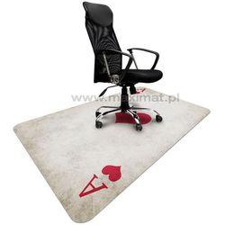 Podkładka ochronna ze wzorem AS 003 - pod krzesło - 120x180cm - grubość. 1,3mm
