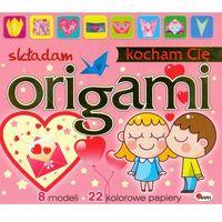 Origami składam Kocham Cię