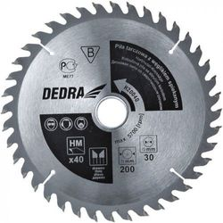 Tarcza do cięcia DEDRA H13024 130 x 20 mm do drewna