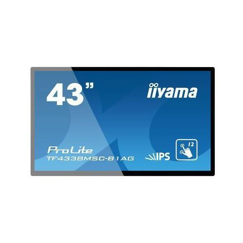 iiyama ProLite TF4338MSC-B1AG, Projected Capacitive, 12 TP, Full HD, black