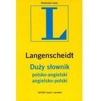 Promocja(w): Duży słownik polsko-angielski, angielsko-polski (opr. miękka)