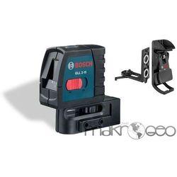 GLL 2-15 Professional + uchwyt BM3 laser krzyżowy Bosch