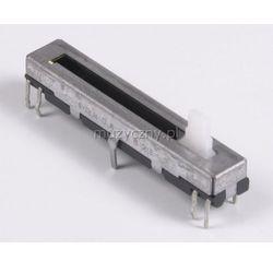 Yamaha VL445700 potencjometr suwakowy VOLUME do syntezatorów 2x10kA (logarytmiczny)