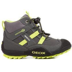 ae3be680 Geox chłopięce buty zimowe za kostkę Atreus, 33, szaro/zielony - BEZPŁATNY  ODBIÓR