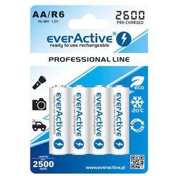 Akumulatory 4xR6/AA everActive Ni-MH 2600 mAh