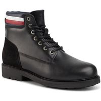 Trapery TOMMY HILFIGER - Active Waterproof Boot FM0FM02428 Black 990