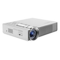 Asus P2B Zasilany z akumulatora przenośny projektor LED/DLP/WXGA/350AL/3500:1/1.5W speaker/D-sub, HDMI/MHL/1.4kg/White/2GB Available for user usage DARMOWA DOSTAWA DO 400 SALONÓW !!