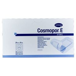 Cosmopor E, plast.,opatr.jalowy,20x10cm,25 szt