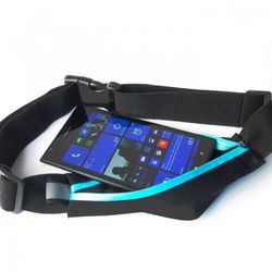 Sunen Pas Belt Case do biegania szary