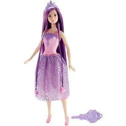 Mattel Barbie Długowłosa Księżniczka fioletowa