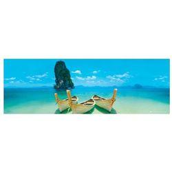 Łódka Tajlandia - plakat