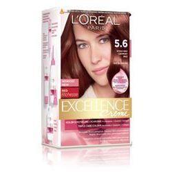 Excellence Creme farba do włosów 5.6 Intensywny czerwony brąz