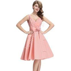 Bawełniana sukienka w stylu vintage | sukienka lata 60-te