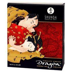 Shunga Dragon Kanadyjski krem erekcyjny do penisa 60 ml