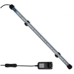 Biała lampa LED do akwarium 48 cm Zapisz się do naszego Newslettera i odbierz voucher 20 PLN na zakupy w VidaXL!