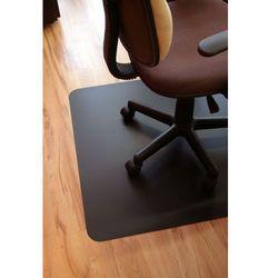 Mata ochronna pod krzesło obrotowe, CZARNA, wielkość 100x140cm , gr.1.7mm