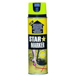 Farba w aerozolu AMPERE Star Marker - żółty FLUO