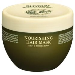 Olivolio Maska odżywcza do włosów cienkich i kruchych z ceramidami 250ml