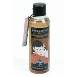 Jadalny olejek do masażu Shiatsu Luxury Body Oil 100 ml cynamonowy