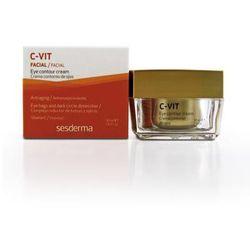 SesDerma - C-Vit Eye Contour Cream - Regenerujący krem pod oczy z witaminą C - 30 ml - DOSTAWA GRATIS! Kupując ten produkt otrzymujesz darmową dostawę !