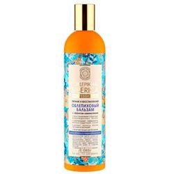 Natura Siberica Professional - balsam rokitnikowy z efektem laminowania do włosów osłabionych i zniszczonych - wyciąg z igieł jodły syberyjskiej, cladonia śnieżna, olej arganowy, syberyjski len, olej z rokitnika ałtajskiego
