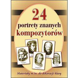 24 portrety najsłynniejszych kompozytorów. Materiały m.in. Do dekoracji klasy Darmowa dostawa do sklepów SMYK