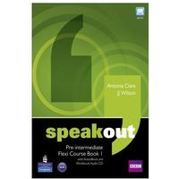 Speakout pre-intermediate flexi course book 1 with ActiveBook and workbook audio CD (opr. miękka)