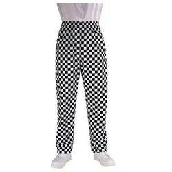 Spodnie | duża czarna krata | rozmiary XS-XXL