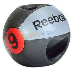 Piłka lekarska z podwójnym uchwytem 9 kg Reebok Dostawa GRATIS!