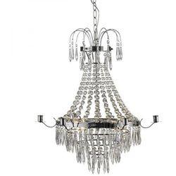 Żyrandol LAMPA wisząca KRAGEHOLM 104418 Markslojd kryształowa OPRAWA świecznikowy ZWIS przezroczysty