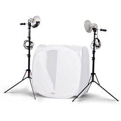 Photoflex zestaw lamp FirstStudio Product Kit z namiotem bezcieniowym 50x50x50cm