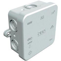 Puszka instalacyjna OBO Bettermann 2000016, IP55, jasnoszary (RAL 7035)