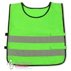 Kamizelka odblaskowa dla dzieci 5 - 7 lat 45x50cm - Zielony