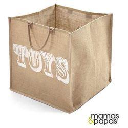 MAMAS&PAPAS Tekstylny pojemnik na zabawki, kol.New Millie & Boris