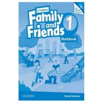Family and Friends: Level 1: Workbook & Online Skills Practice Pack (opr. broszurowa)