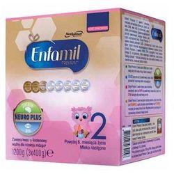 Mleko ENFAMIL Premium 2 Lipil 6-12 miesiąca mleko następne 1200g