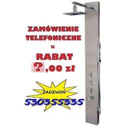 GWARANCJA NAJNIŻSZEJ CENY!   Panel prysznicowy z hydromasażem Neo z mieszaczem wersja szczotkowana, S-060M   NOWA PROMOCJA - RABAT 40,00 przy zamówieniu telefonicznym !