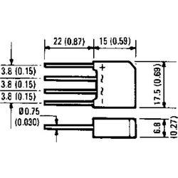 Prostownik mostkowy International Rectifier 2KBP04